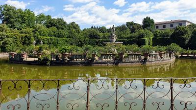 Giardini Boboli Fontana Nettuno