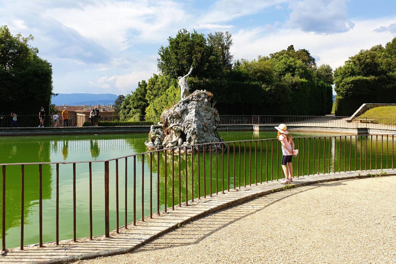 Boboli fontana Nettuno