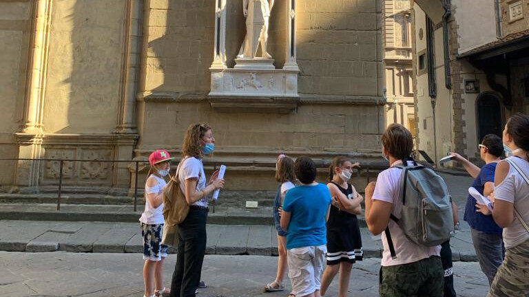 Orsanmichele Firenze giochi in famiglia