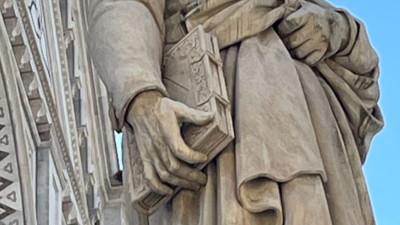 Dante Alighieri statua Firenze