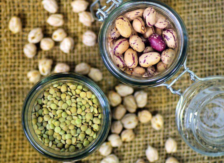 legumi fagioli e piselli