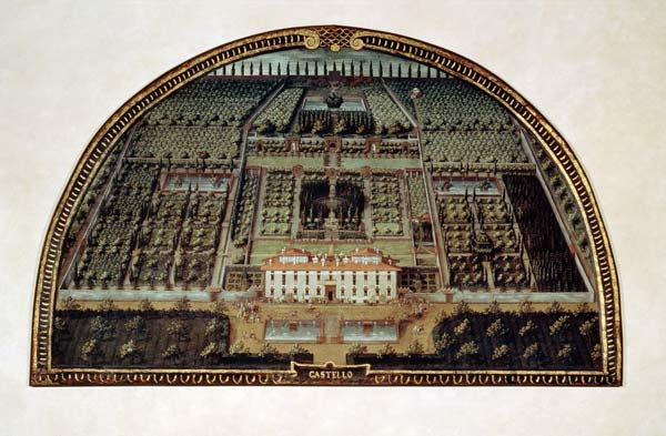 Lunetta Utens Castello