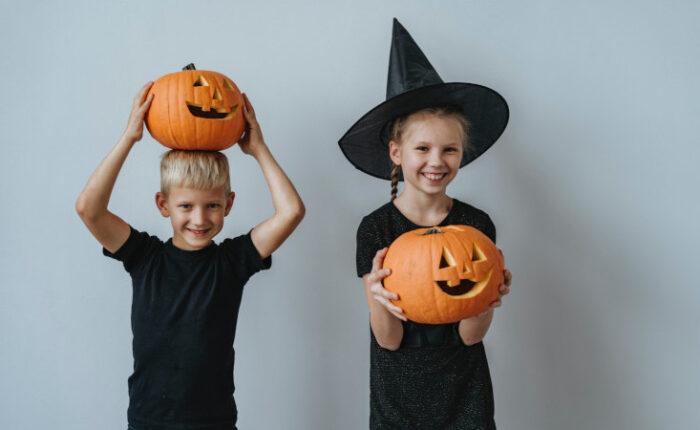 bambini halloween 2020