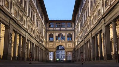 esterno uffizi