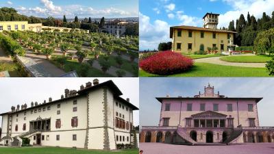 ville medicee Toscana