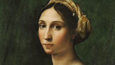 ritratto di donna Raffaello