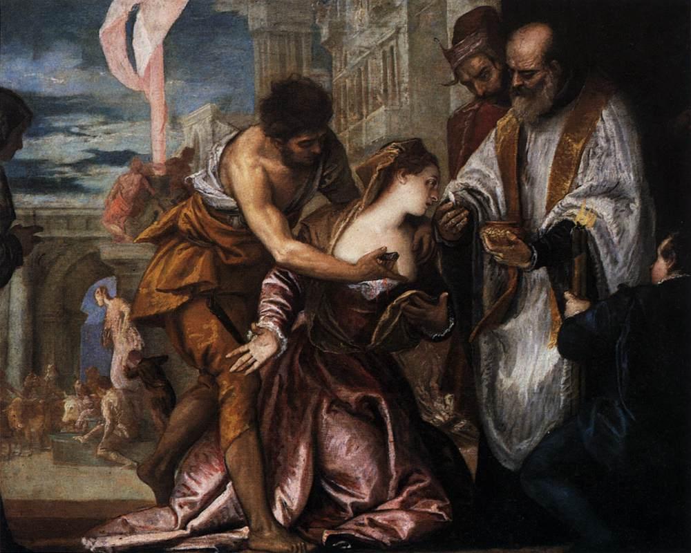 Martirio Santa Lucia Veronese
