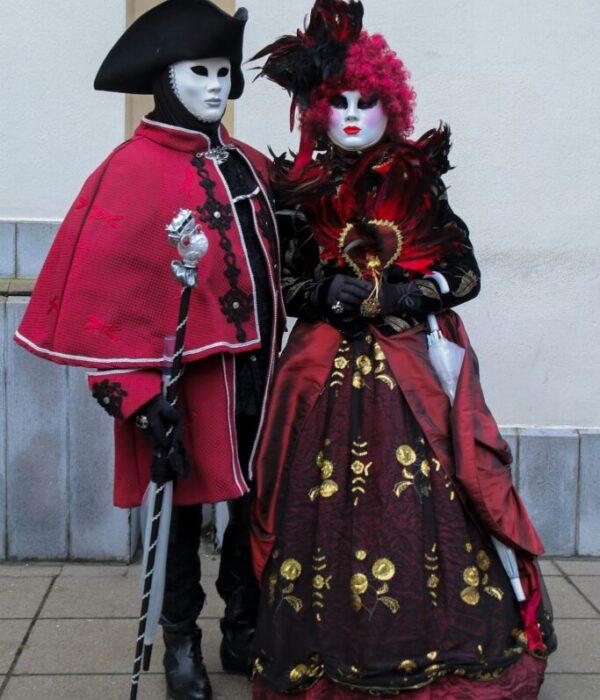 maschere intere carnevale