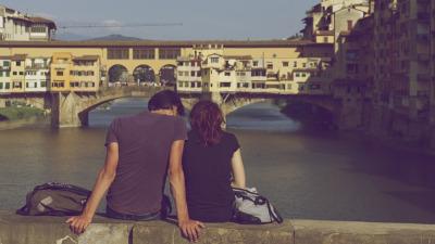 Firenze Ponte Vecchio amore