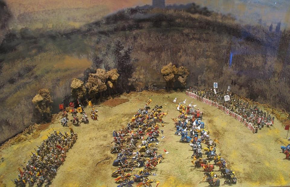 Battaglia Campaldino Arezzo Firenze