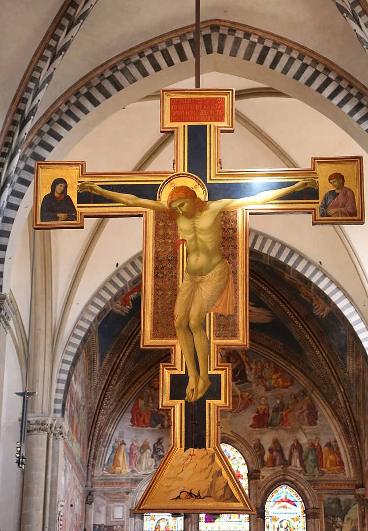 Croce Giotto Santa Maria Novella