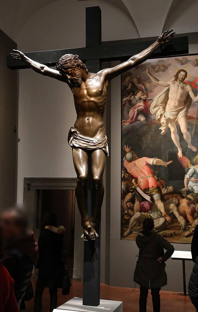 Crocifisso Giambologna Santissima Annunziata Firenze