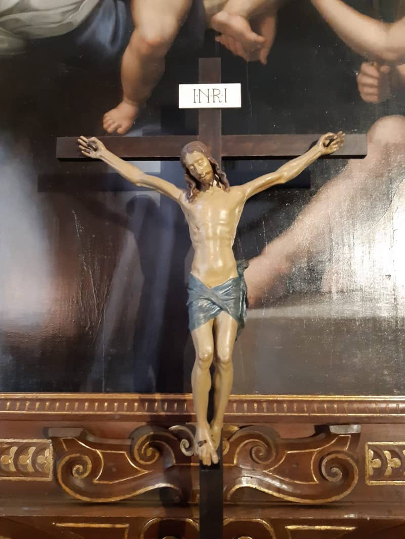 Crocifisso ligneo Benedetto da Maiano Villa Petraia