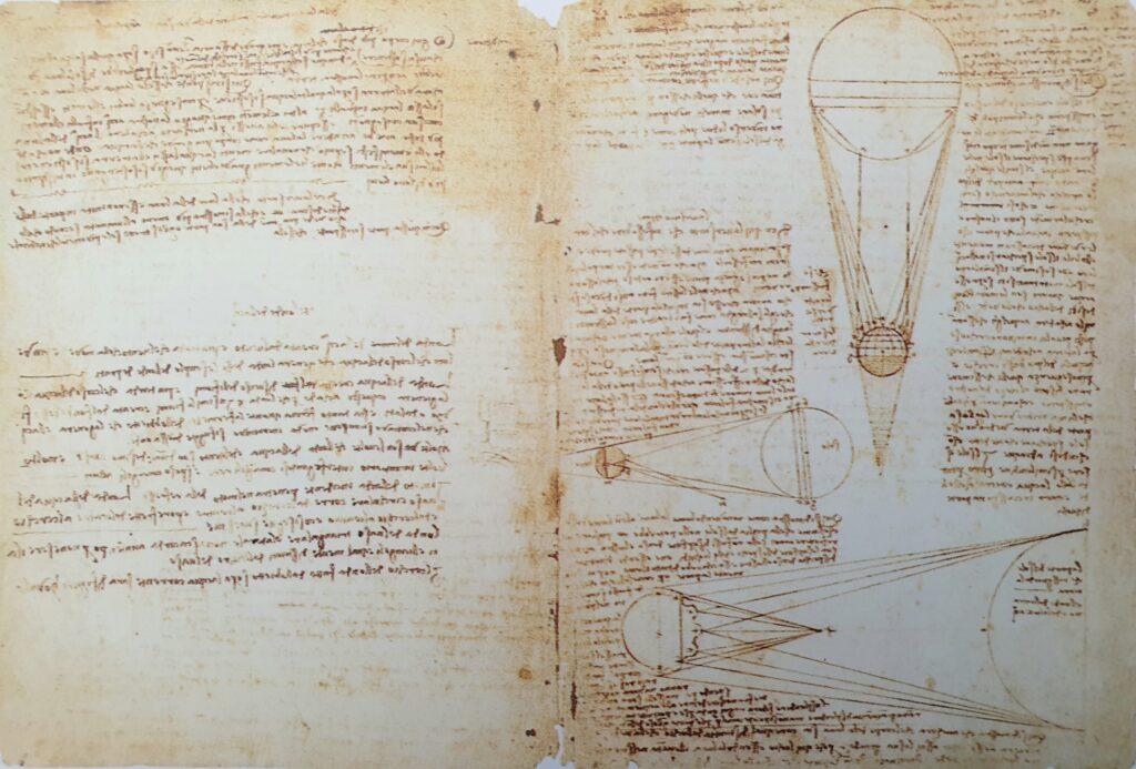 Studi astronomici Leonardo