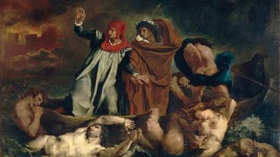 la barca di Dante Delacroix