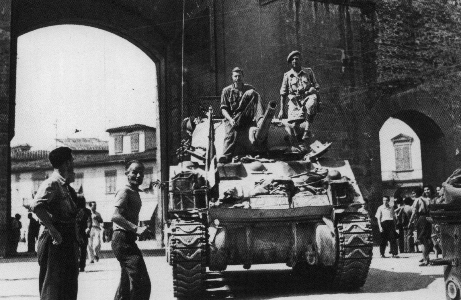 soldati su ponte vecchio