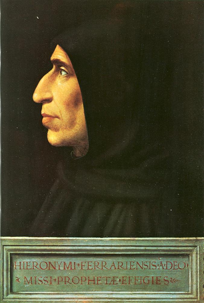 Girolamo Savonarola Ritratto