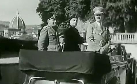 Hitler Mussolini a Firenze