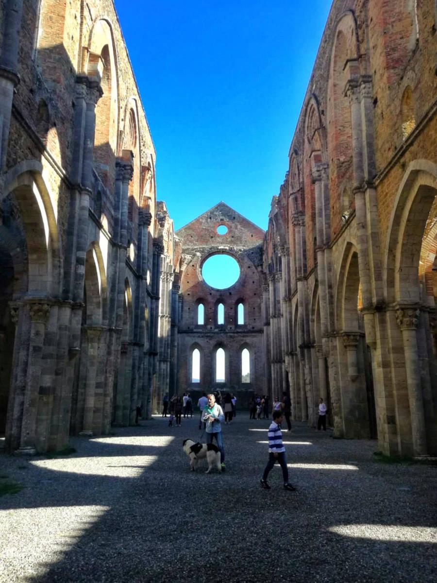 Abbazia San Galgano a Siena