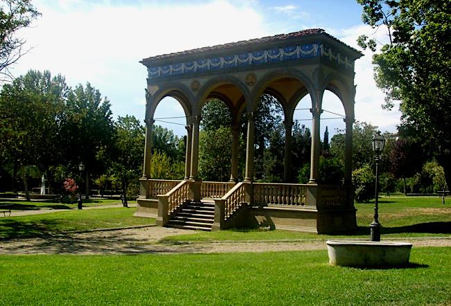 11Giardino Orticultura Firenze tempio