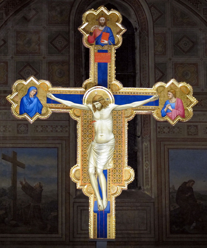 11Giotto crocifisso di Ognassanti firenze