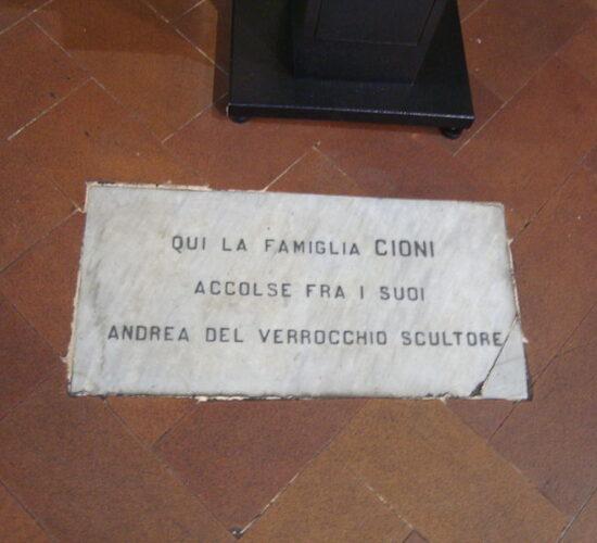 11Tomba di Verrocchio sant'ambrogio firenze