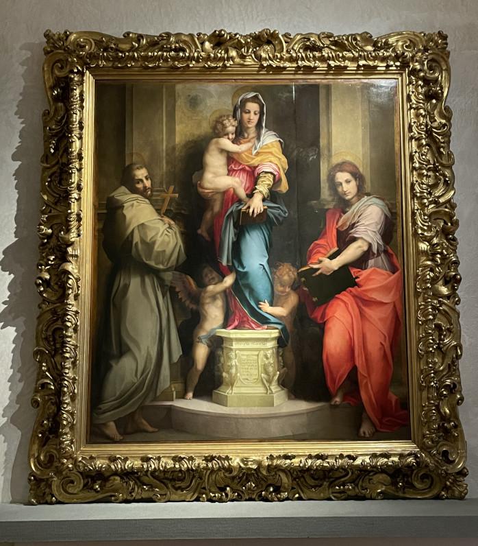 11Madonna delle arpie Andrea del Sarto