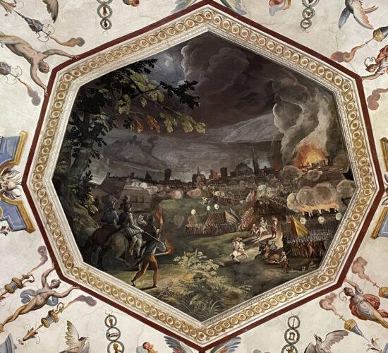 11soffitto armeria medicea Uffizi