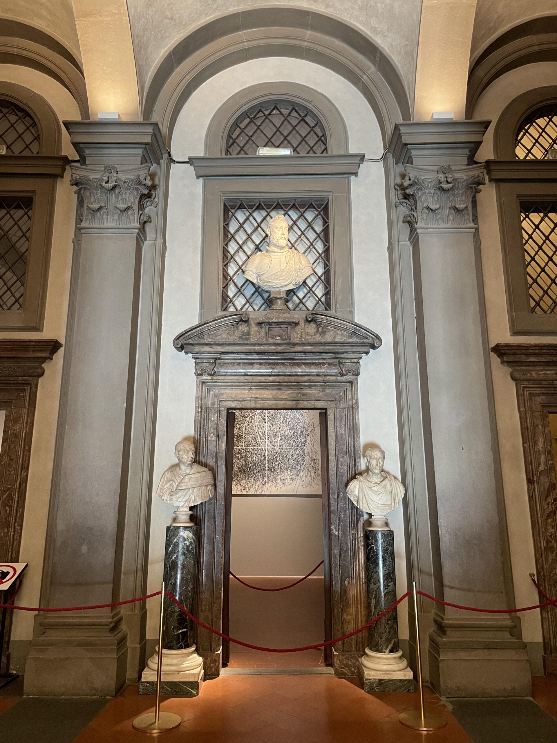 11teatro mediceo Francesco I Uffizi